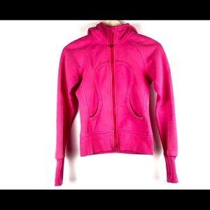 Lululemon hot pink scuba hoodie